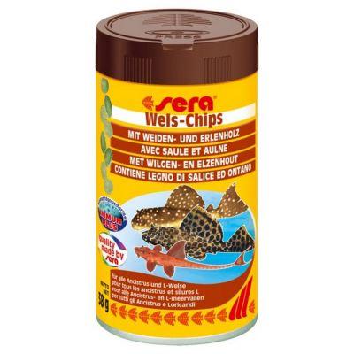 Mangime per pesci wels chips sera gr. 38