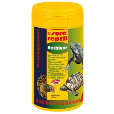 Mangime per rettili professional herbivor sera reptil gr. 85