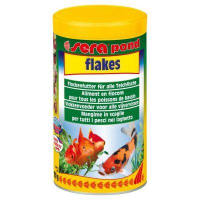 Mangime per pesci flakes sera pond gr. 180