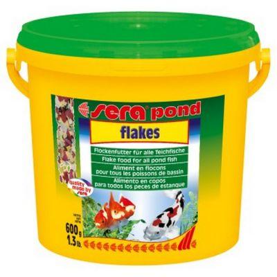 Mangime per pesci flakes sera pond gr. 600