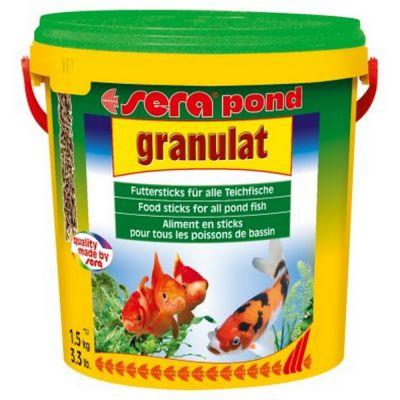 Mangime per pesci granulat sera pond kg. 1,5