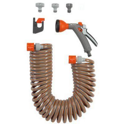 Set tubo a spirale 10m con accessori
