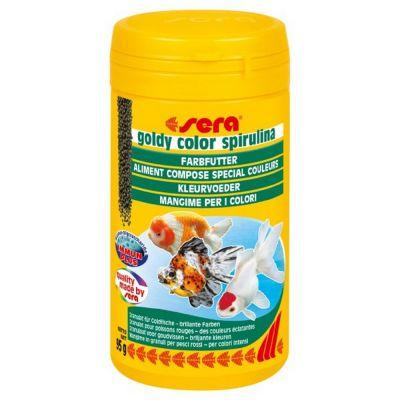 Mangime per pesci goldy color spirulina sera gr. 95