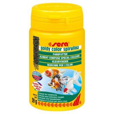 Mangime per pesci goldy color spirulina sera gr. 39