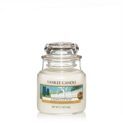 Giara profumata yankee candle clean cotton piccola