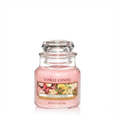 Giara profumata yankee candle fresh cut roses piccola