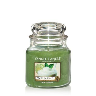 Giara profumata yankee candle vanilla lime media