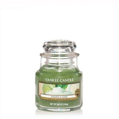 Giara profumata yankee candle vanilla lime piccola