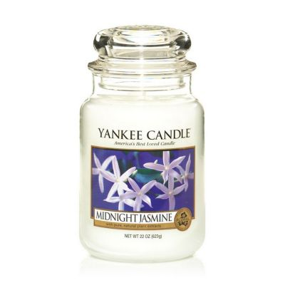 Giara profumata yankee candle midnight jasmine grande
