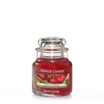 Giara profumata yankee candle black cherry piccola