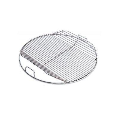 Griglia di cottura apribile per barbecue weber cm. 47