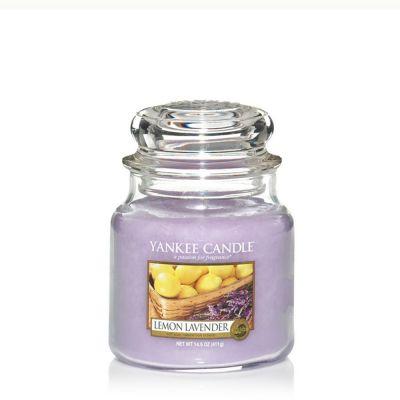 Giara profumata yankee candle lemon lavender media