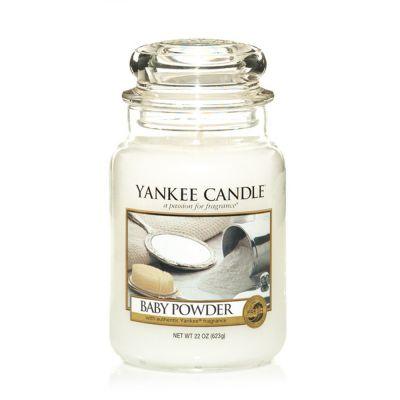 Giara profumata yankee candle baby powder grande