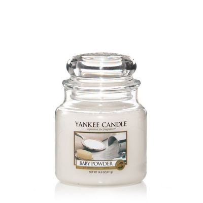 Giara profumata yankee candle baby powder media