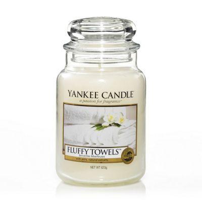Giara profumata yankee candle fluffy towels grande