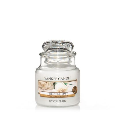Giara profumata yankee candle wedding day piccola