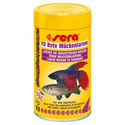 Mangime per pesci fd larve rosse di zanzara sera gr. 9