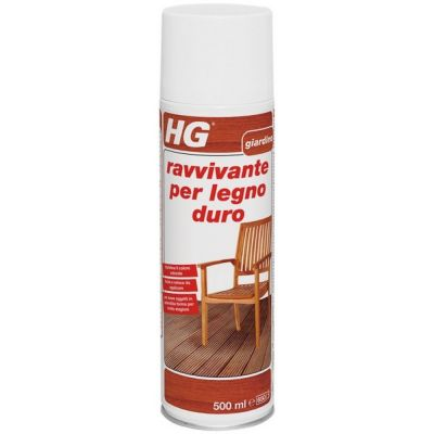 Ravvivante per la cura di mobili da giardino in legno duro hg ml. 750