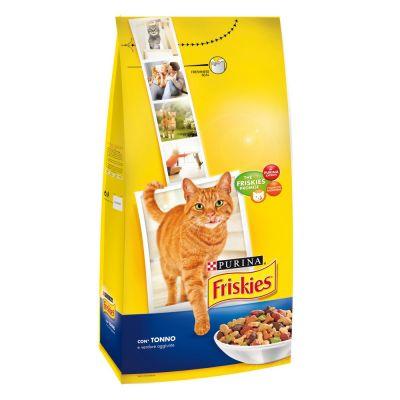 Friskies adult con tonno e verdure aggiunte secco gatto kg. 2