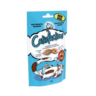 Snack per gatto catisfaction al salmone gr. 60