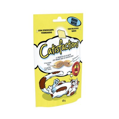 Snack per gatto catisfaction al formaggio gr. 60