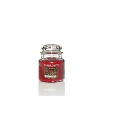 Giara profumata yankee candle red apple wreath media