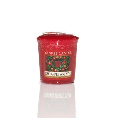 Moccolo profumato yankee candle red apple wreath
