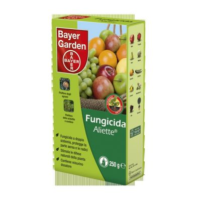 Fungicida aliette wg 80 bayer gr. 250