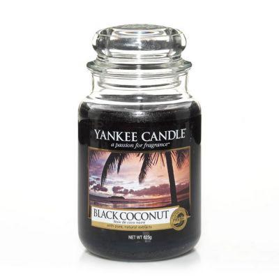 Giara profumata yankee candle black coconut grande