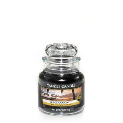 Giara profumata yankee candle black coconut piccola