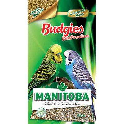 Mangime per uccelli budgies plus manitoba kg. 1