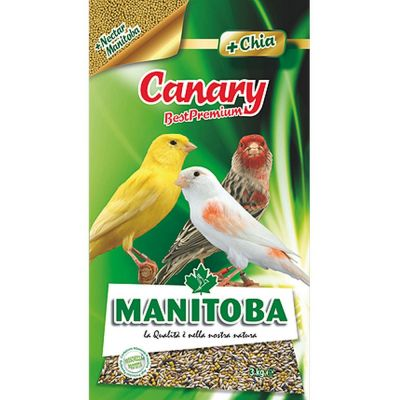 Mangime per uccelli canary manitoba kg. 3