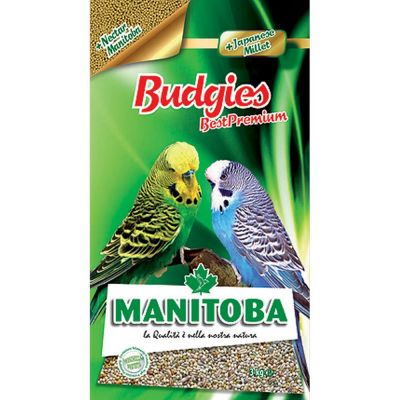 Mangime per uccelli budgies plus manitoba kg. 3