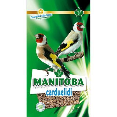 Mangime per uccelli carduelidi manitoba gr. 800
