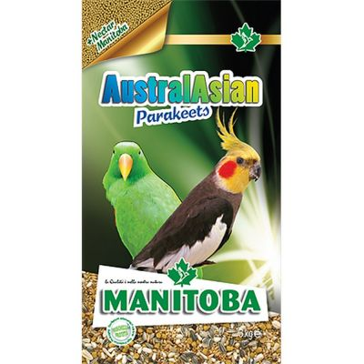 Mangime per uccelli australasian parakeets manitoba kg. 1