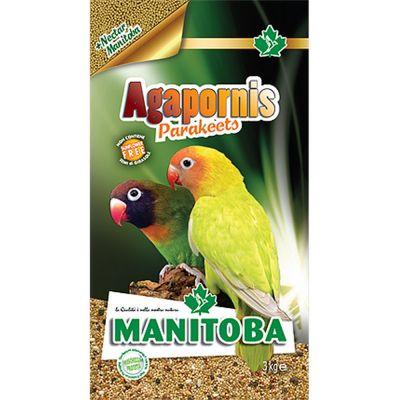 Mangime per uccelli agaporni parakeets manitoba kg. 3