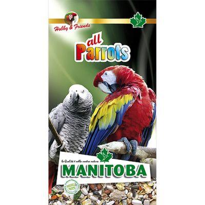 Mangime per uccelli all parrots manitoba kg. 2