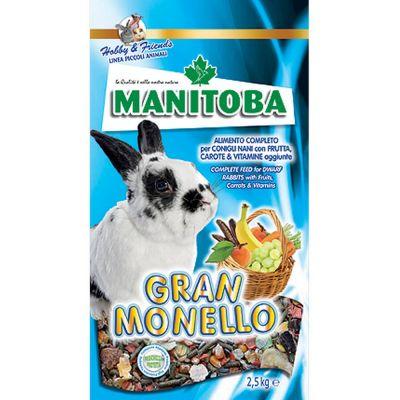 Mangime per coniglio gran monello manitoba kg. 2,5