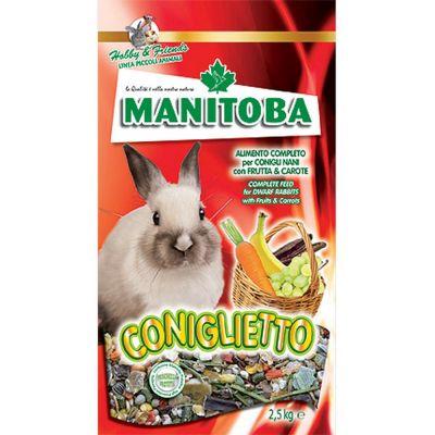 Mangime per coniglio coniglietto manitoba kg. 15
