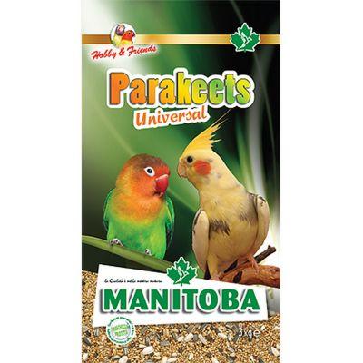 Mangime per uccelli parakeets universal manitoba kg. 1