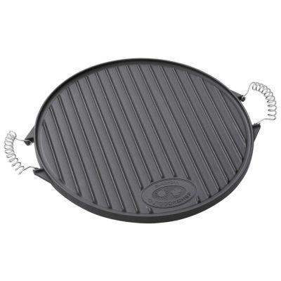 """Piastra in ghisa """"plancha"""" per barbecue 480 e 570"""