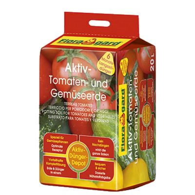 Terriccio attivo per pomodori floragard
