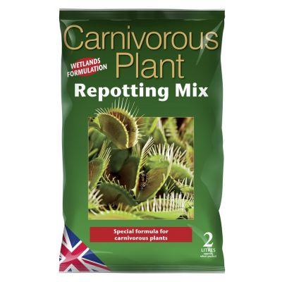 Terriccio per piante carnivore