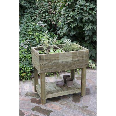 Orto-legno doppio ripiano