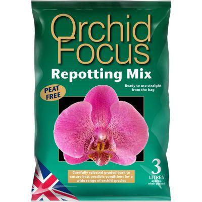 Substrato per il rinvaso delle orchidee