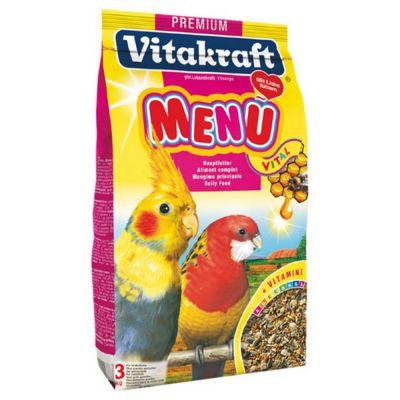 Premium menu pappagalli vitakraft 3kg