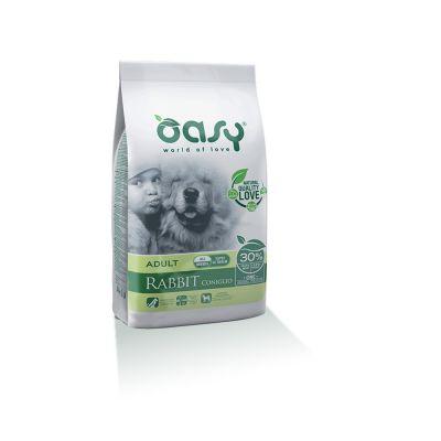 Oasy one protein secco cane al coniglio 12kg
