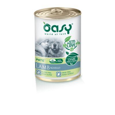 Oasy one protein umido cane all'agnello 400gr