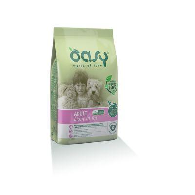 Oasy alimento secco per cane adult light in fat 12kg