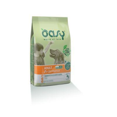 Oasy alimento secco per cane adult performance 12kg